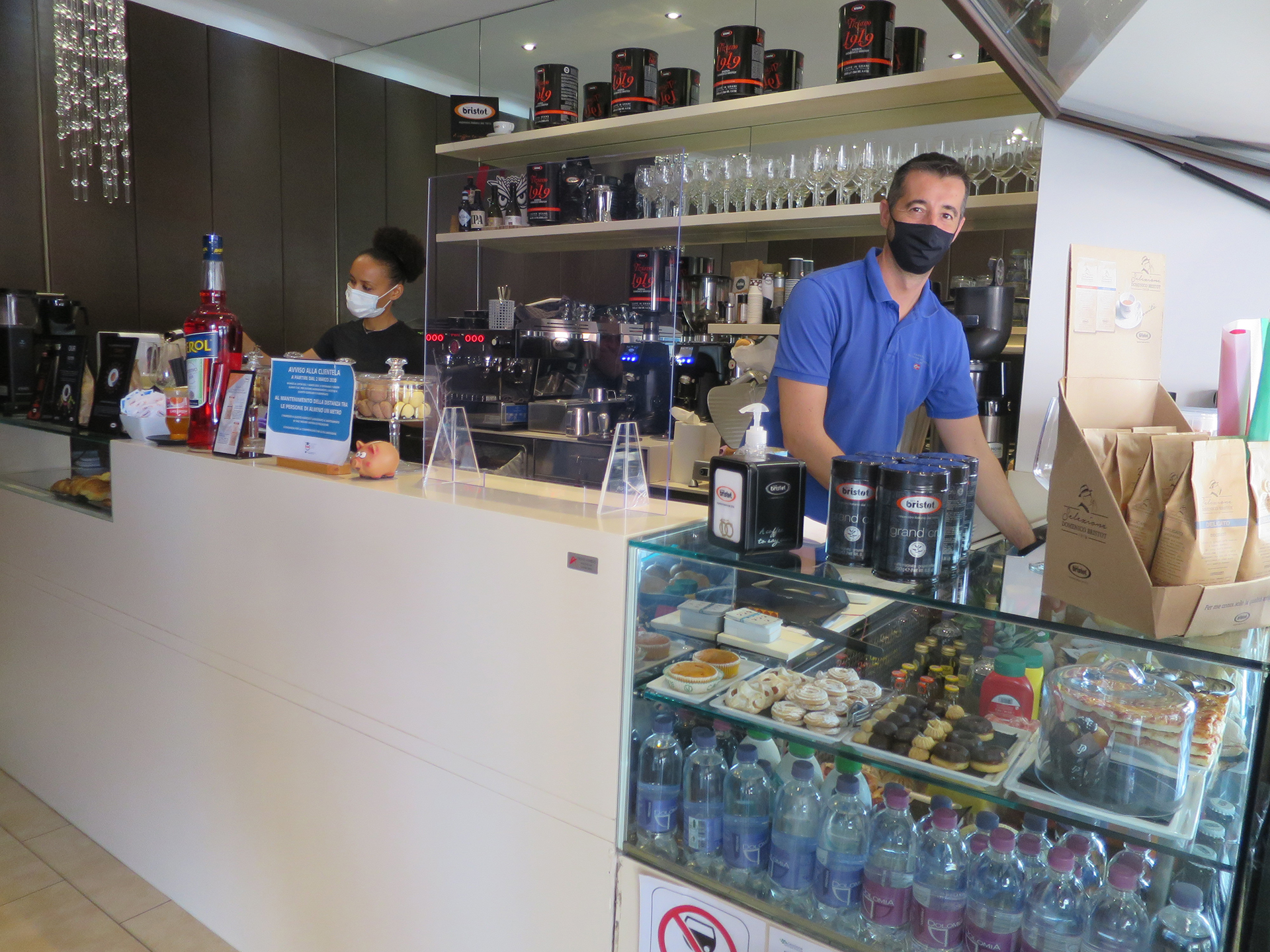 Caffetteria Bristot Espresso Eccellente